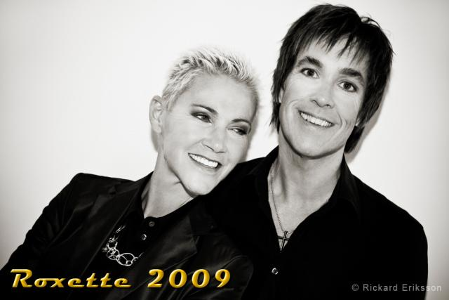 The Daily Roxette offers a new picture of Roxette - taken at Per ...